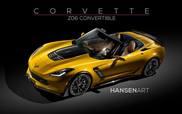 Il rendering della Corvette C7 Stingray Z06 è impressionante!