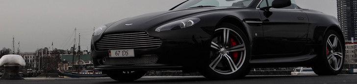 Sesja zdjęciowa: Aston Martin V8 Vantage N400