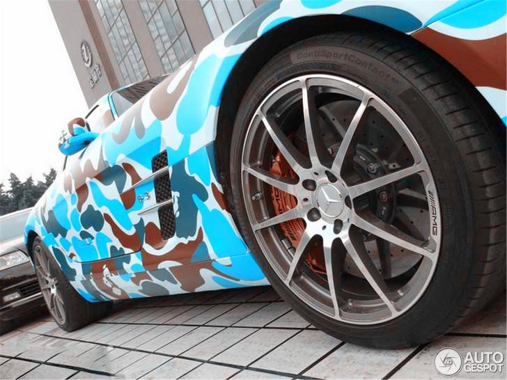 Wat moet je ophebben om deze SLS AMG te creëren?