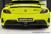 Neobična boja za SLS AMG Black Series!