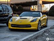 Avvistata la prima Corvette Stingray Convertible!