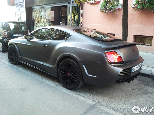 Spotted In Sofia Bentley Continental Gt By Vilner