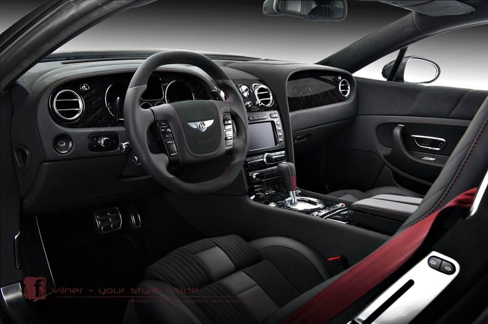 on Purple Bentley Continental Gt