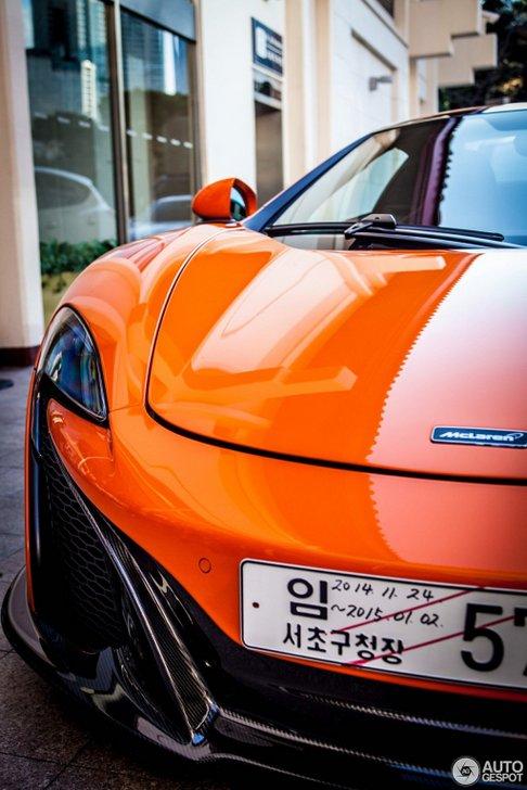 McLaren 650S Spider is prachtig in Zuid-Korea