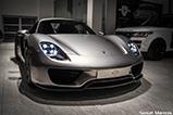 Porsche 918 Spyder arriveert in Tsjechië