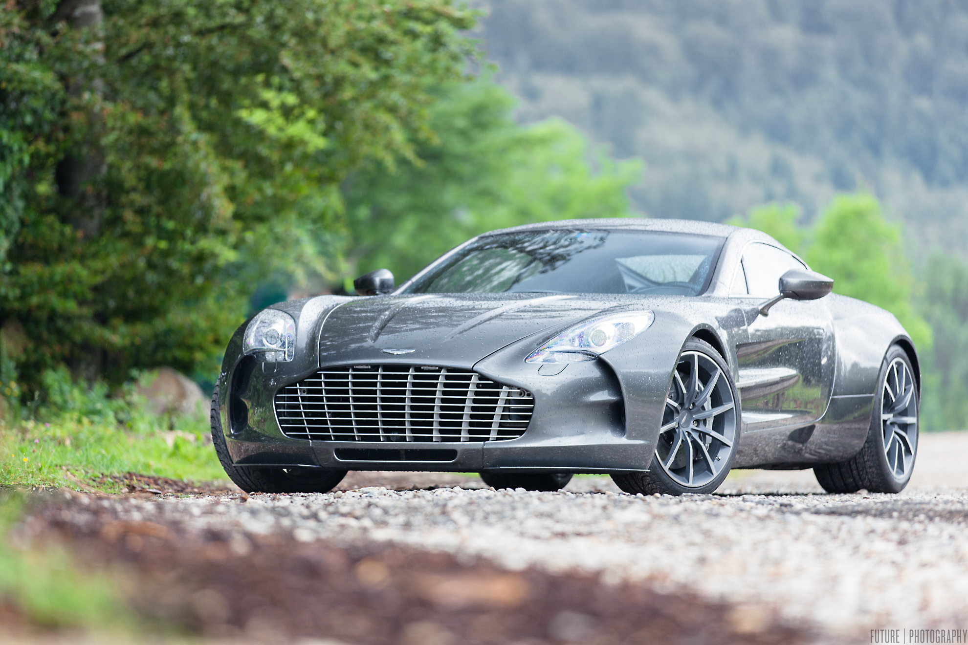 Photoshoot Aston Martin One 77