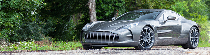 Photoshoot: Aston Martin One-77