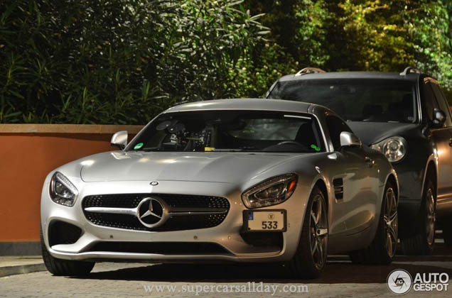 Gespot: Mercedes-AMG GT S in Sitges