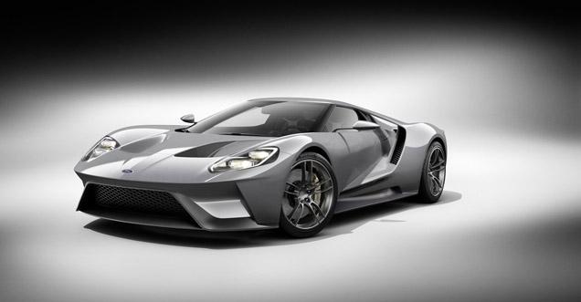 Zijn jullie klaar voor de nieuwe Ford GT?