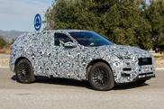Version définitive du Jaguar F-Pace repéré !