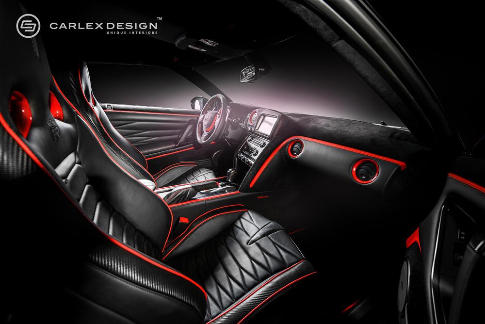 carlex design geeft nissan gt r japanse styling