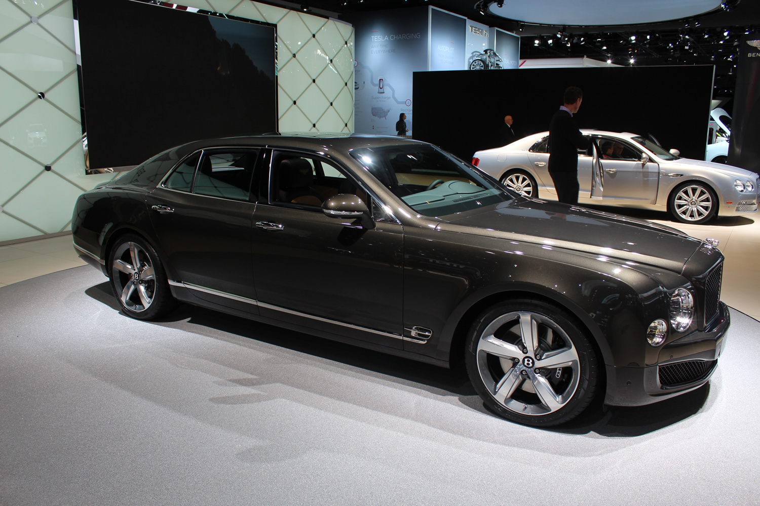 NAIAS 2015:Bentley\'s Mulsanne Speed is comfortable yet powerful