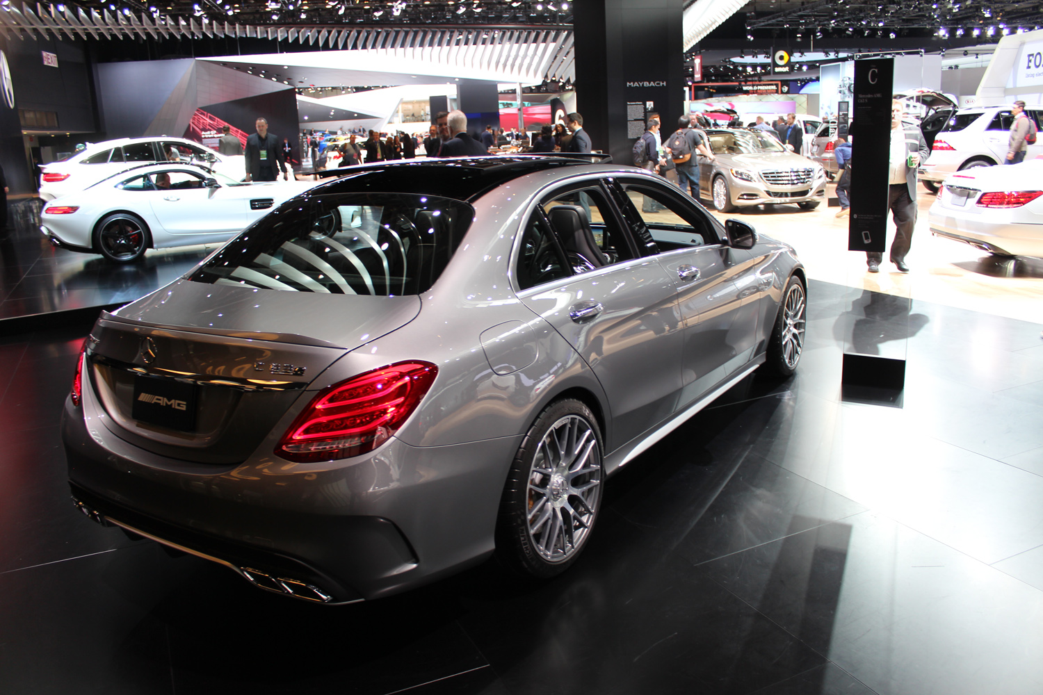 naias 2015 mercedes benz c 450 amg. Black Bedroom Furniture Sets. Home Design Ideas