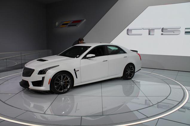 NAIAS 2015: Cadillac CTS-V is a real brute