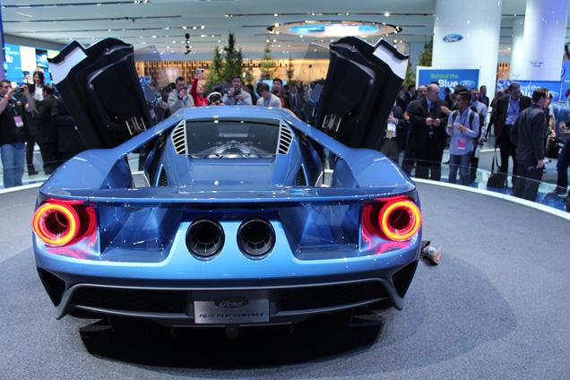 NAIAS 2015: Ford GT