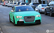 L'Audi RS5 Vert émeraude est vraiment unique !
