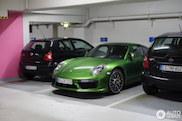 Déjà spottée : Porsche 991 Turbo S MkII