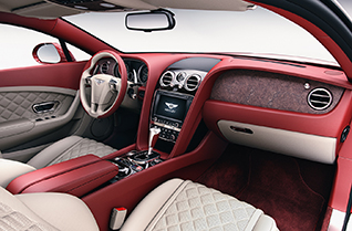 Stone veneer by Mulliner - next level of bespoke luxury