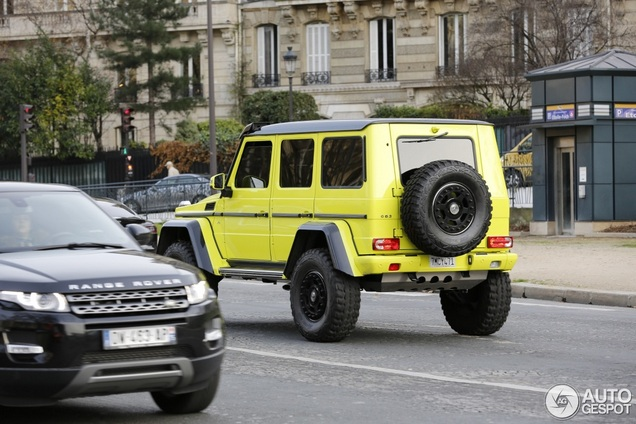Mercedes-Benz G 500 4X4² wil graag iets meer zijn