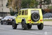 Le Mercedes-Benz G500 4X4² en impose dans la rue