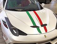 La Ferrari 458 speciale d'Ian Poulter est en effet très spéciale !