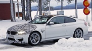 Spy-shots: Camouflaged BMW M4 CS
