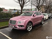 Pretty in Pink, the Bentley Bentayga