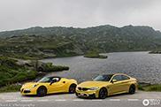 Yellow combo ready to attack the San Bernardino mountain pass