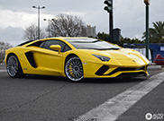 Spotted: The new Lamborghini Aventador S