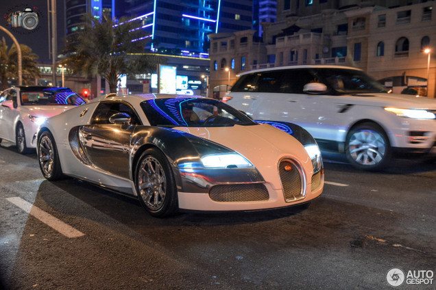 How many bugatti veyrons are there