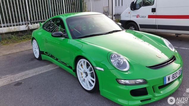 Moet Je Witte Velgen Onder Een Porsche 997 Gt3 Rs Schroeven