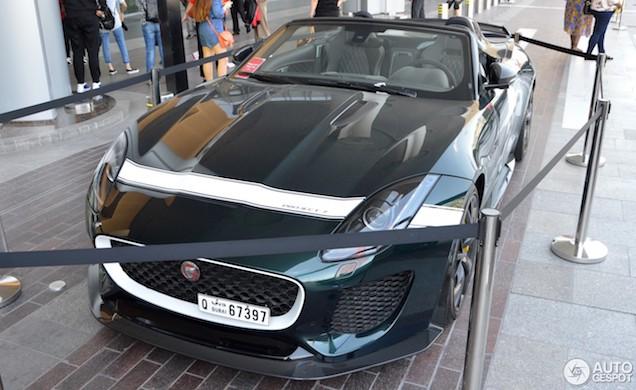 Jaguar Project 7 is de ultieme cabrio voor Dubai