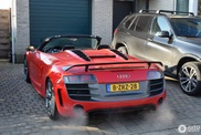 You warm up quickly in the Audi R8 GT Spyder