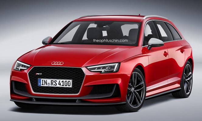 Specificaties Audi RS4 en RS5 gelekt