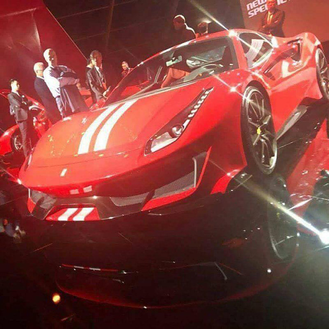 Ook hallo, de Ferrari 488 'Special Series'