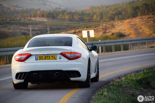 Op pad met de Maserati GranTurismo MC Stradale in Israël