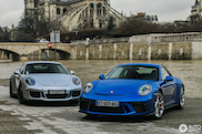 Combo shoot: Porsche 911 GT3 Mk I & II
