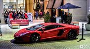 这些是一天里入镜的兰博基尼 Aventador