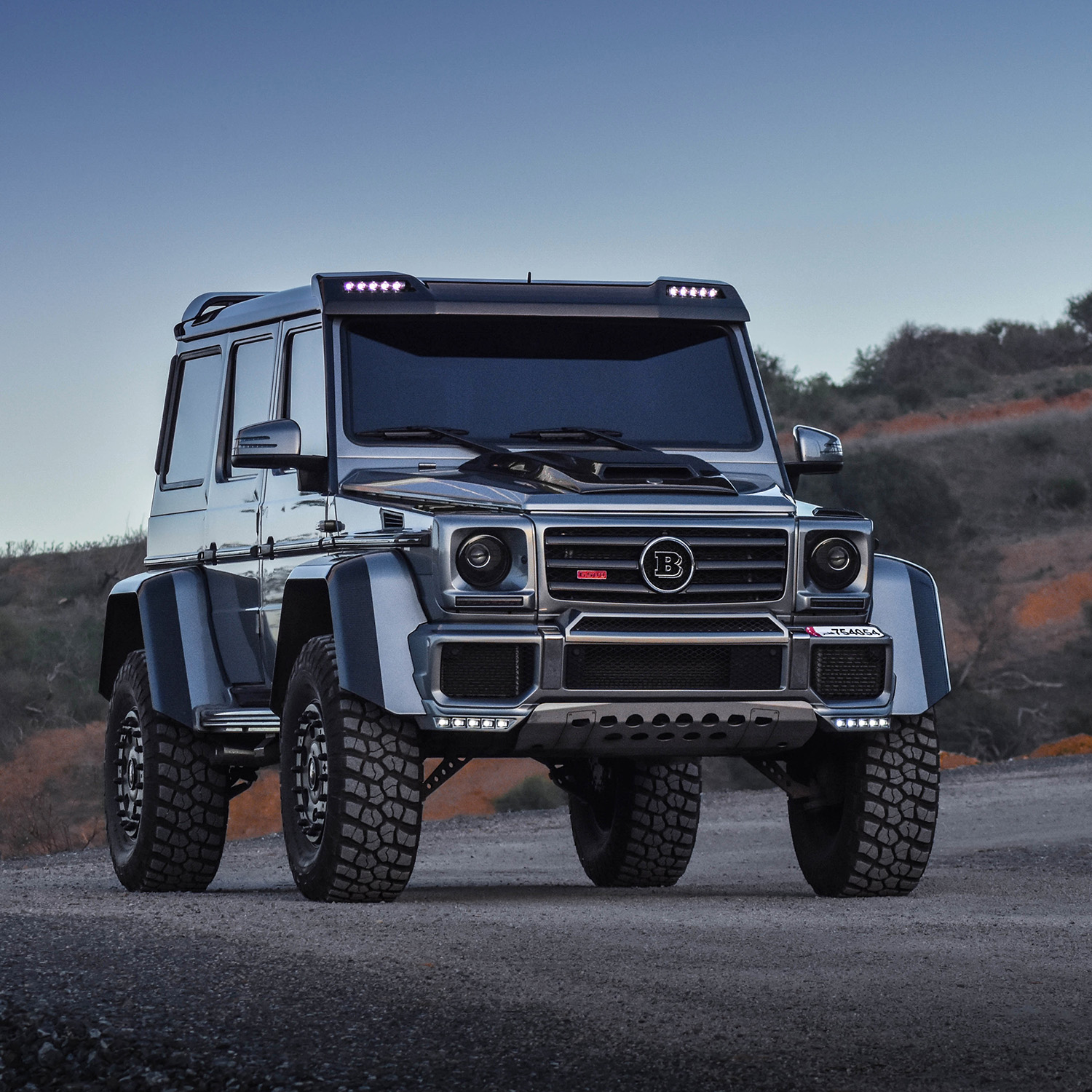 Photoshoot Brabus G500 4x4 178 From Qatar To Morocco