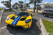 Ford GT vliegt over naar de Verenigde Arabische Emiraten