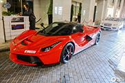 Aantal LaFerrari's in Dubai blijft toenemen