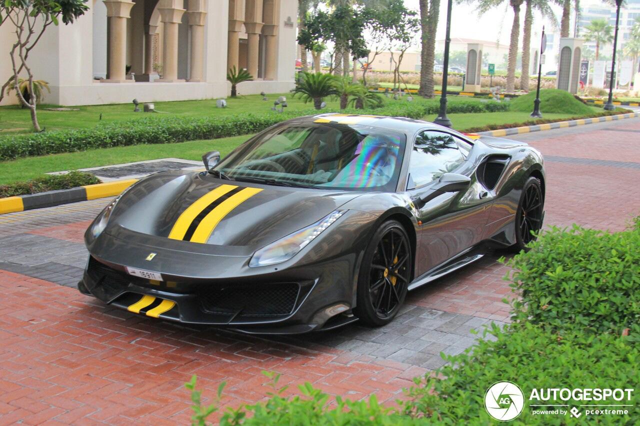 Ferrari 488 Pista aangekomen in Qatar