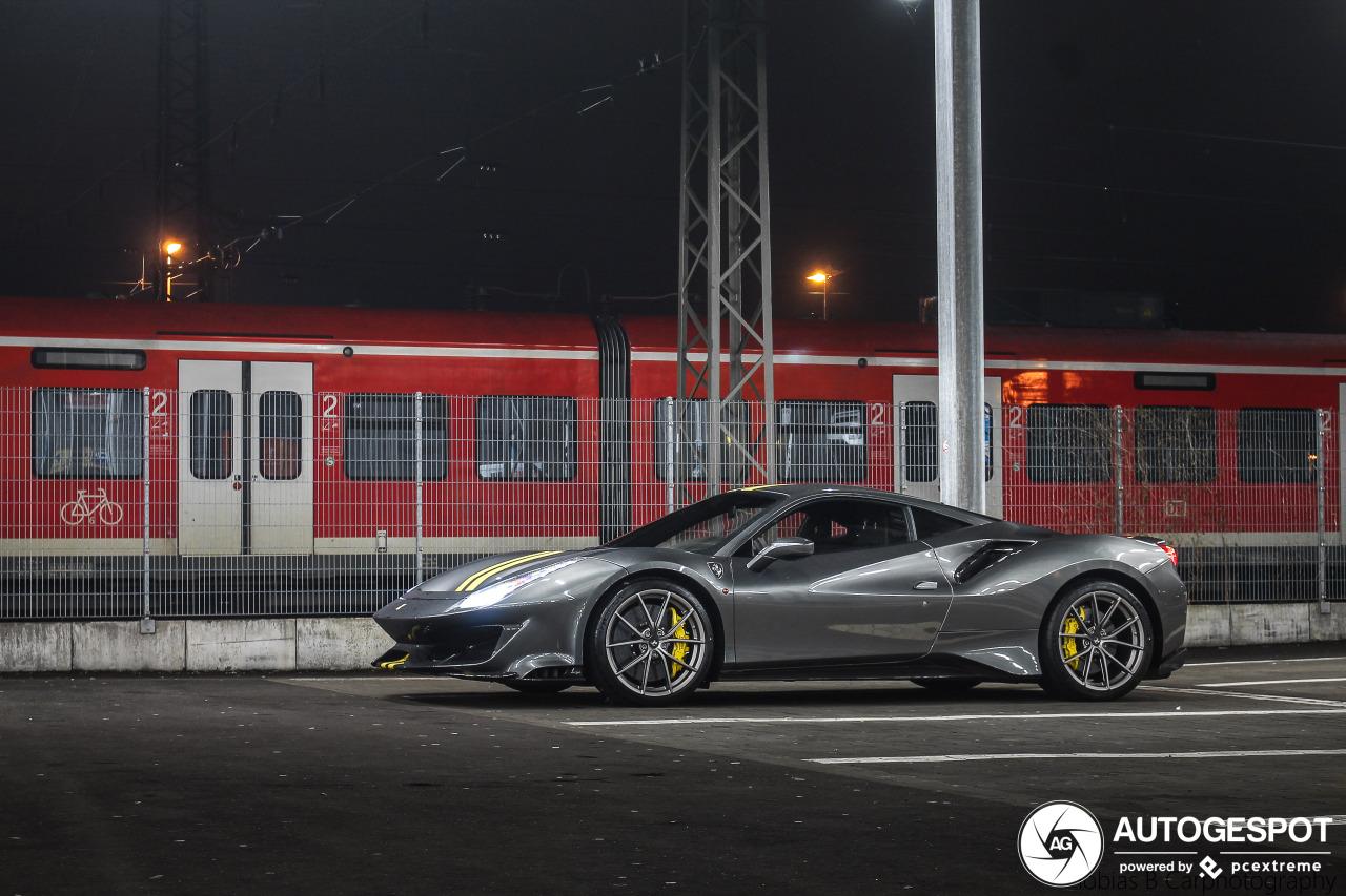 Grijze exemplaren van de 488 Pista zijn nu aan de beurt bij Ferrari