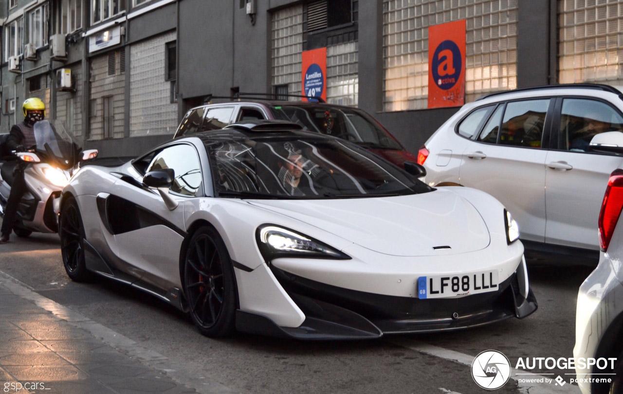 McLaren 600LT heeft de MSO behandeling gekregen