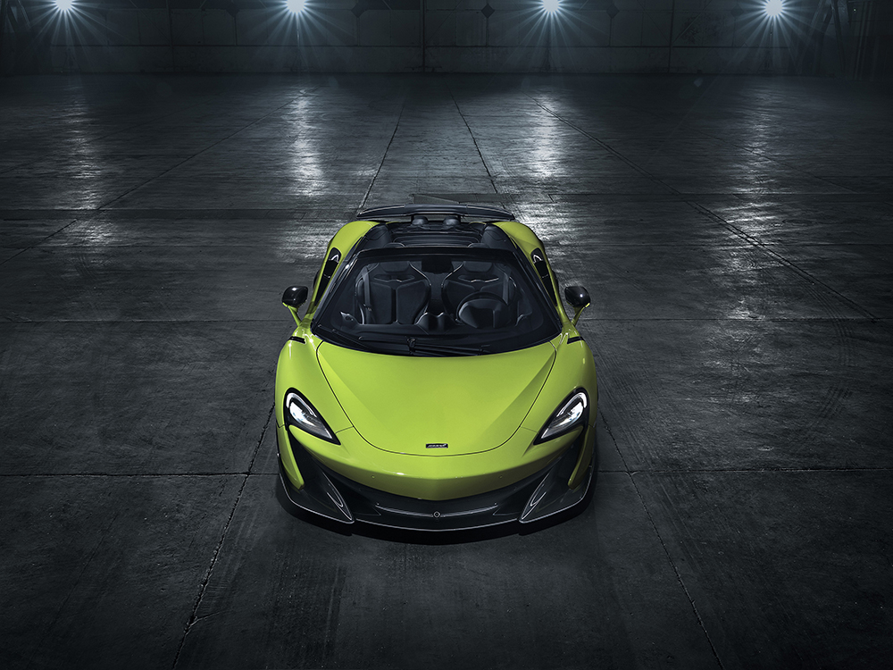 Ready for the sun: McLaren 600LT Spider