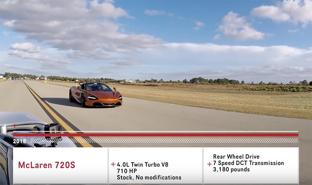 Filmpje: McLaren 720S tegen McLaren 720S met 1.000 pk
