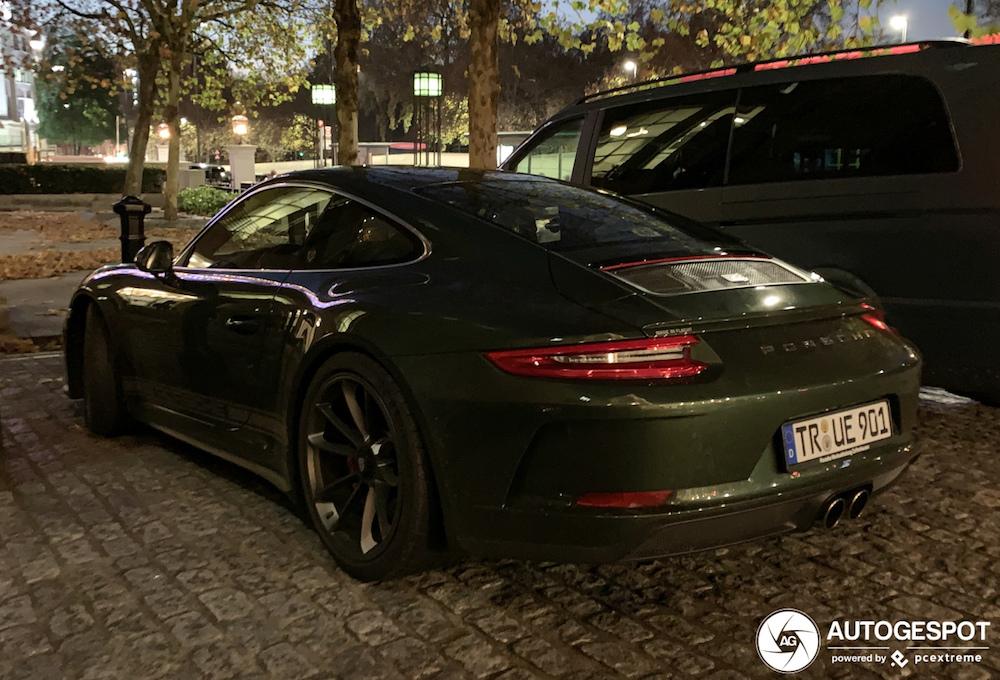 Porsche van een ware liefhebber gespot!