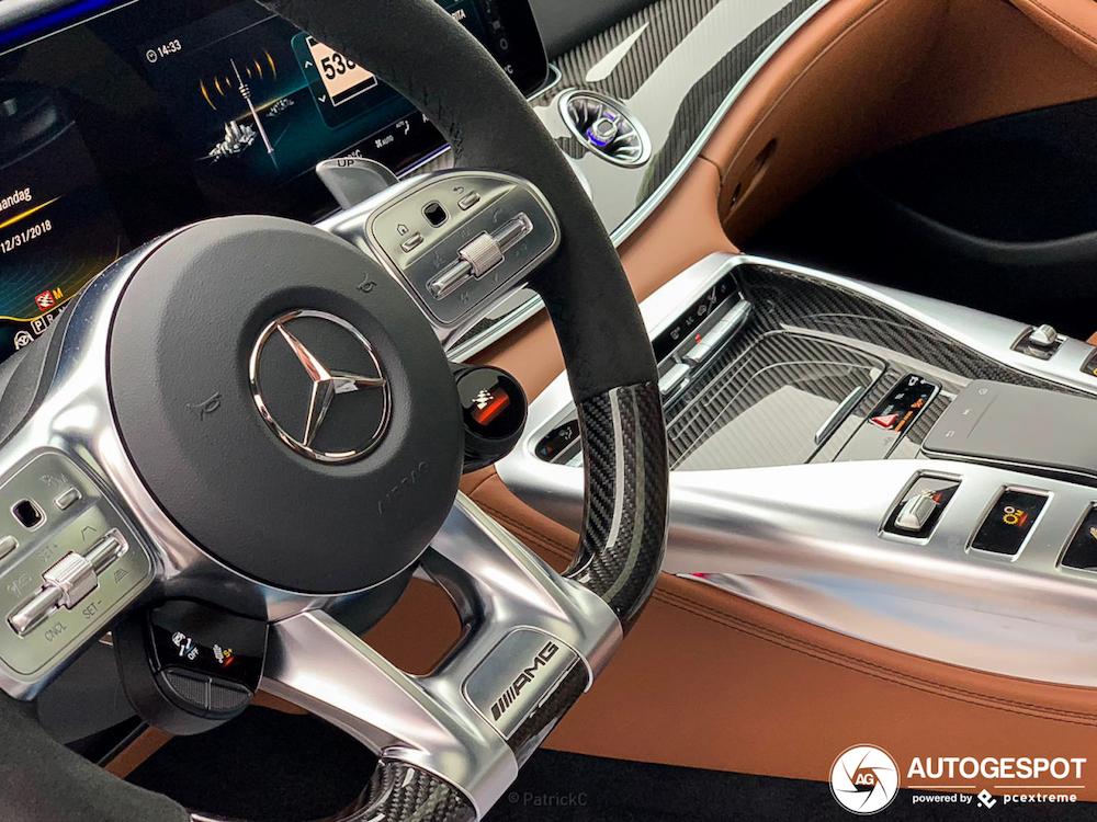 Spot van de dag: Mercedes-AMG GT 63 S!