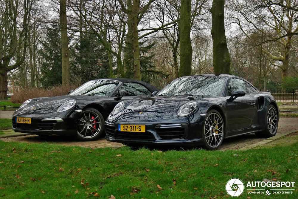 Heerlijk Porsche 911 duo gespot!