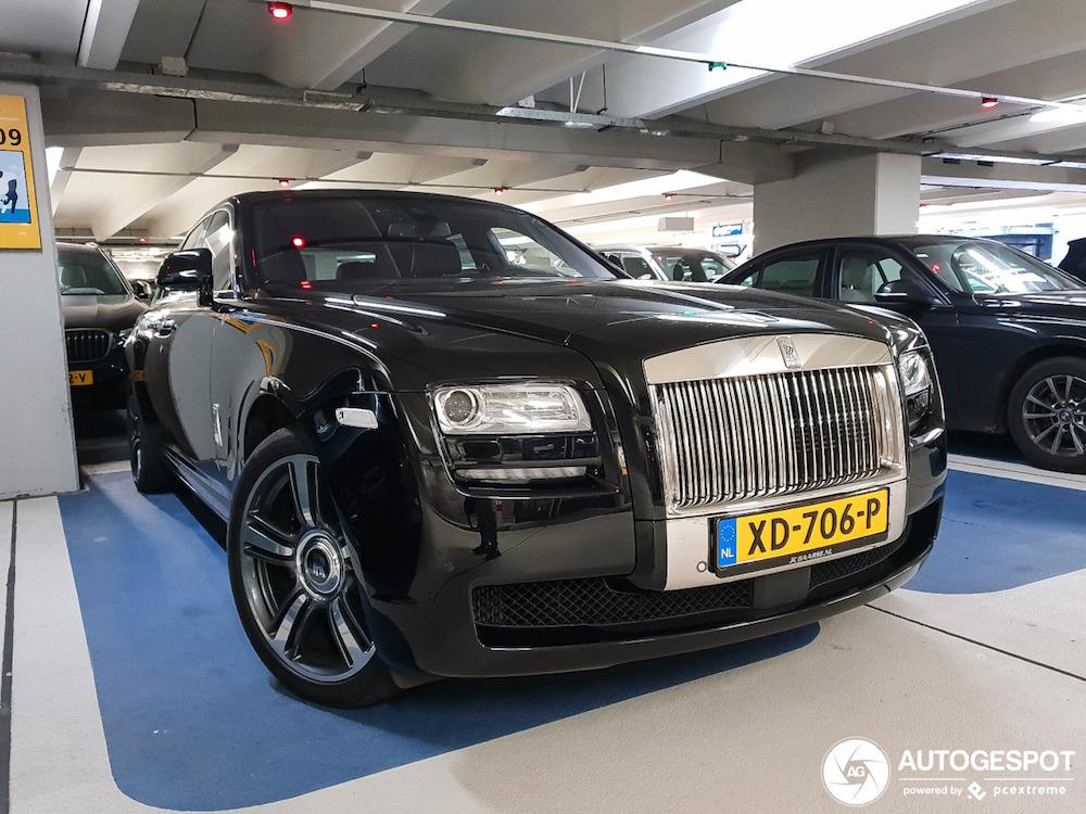 Voor Rolls Royce Black Badge was er dit…